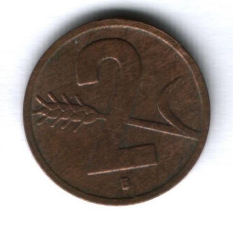 2 раппена 1954 г. Швейцария