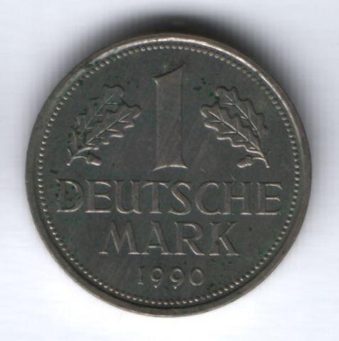 1 марка 1990 г. D Германия