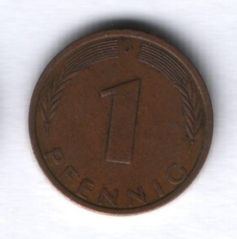 1 пфенниг 1976 г. ФРГ Германия