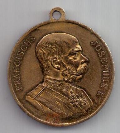 медаль 1905 г. Богемия - Чехия. Австрия