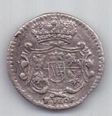 3 пфеннига 1743 г. AUNC Литва. Польша. Саксония