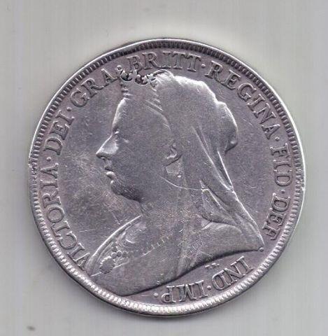 1 крона 1898 г. редкий год. Великобритания
